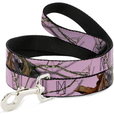 Dog Leash - Mossy Oak Country Roots Camo Baby Pink