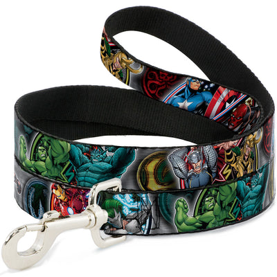 Dog Leash - Marvel Avengers Superhero/Villain Poses