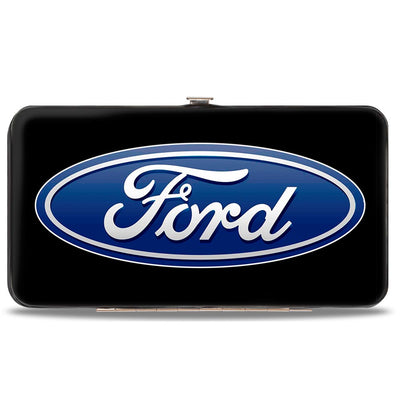 Hinged Wallet - Ford Oval Logo CENTERED