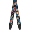 Guitar Strap - Superman Metropolis Face-Off