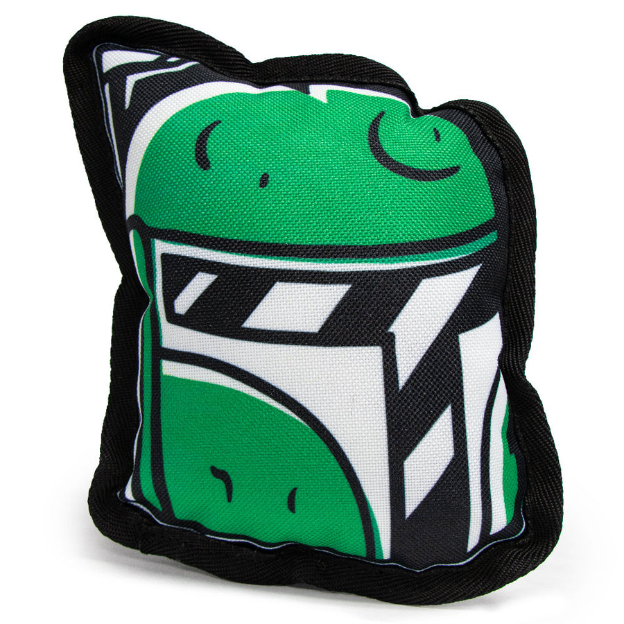 Dog Toy Squeaky Plush - Star Wars Boba Fett Head