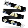 Jack Expression2 Full Color Seatbelt Belt - NBC Jack & Sally Moon Scenes Webbing