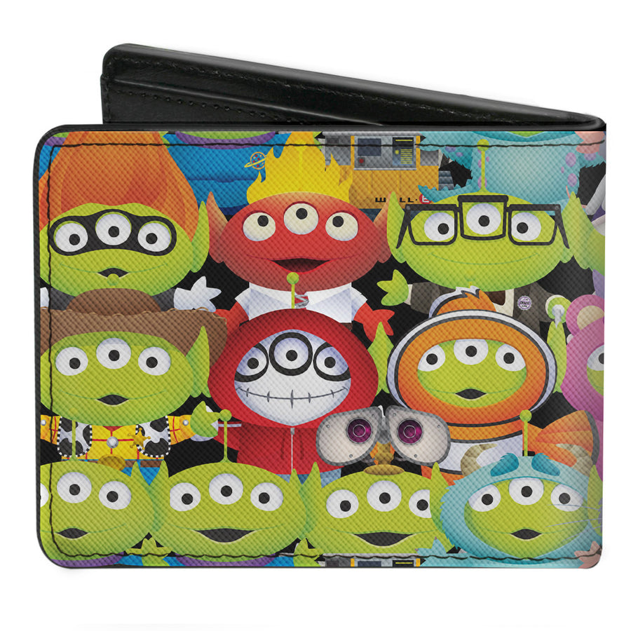 Bi-Fold Wallet - Toy Story Aliens Pixar Character Cosplay Mashup