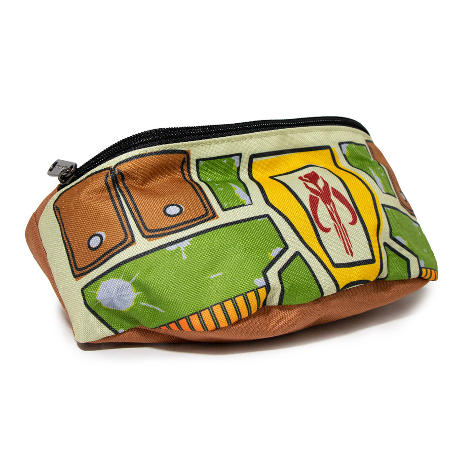 Fanny Pack - Star Wars Boba Fett Utility Belt Bounding Tan Multi Color