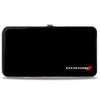 Hinged Wallet - DODGE Red Rhombus Black White Red
