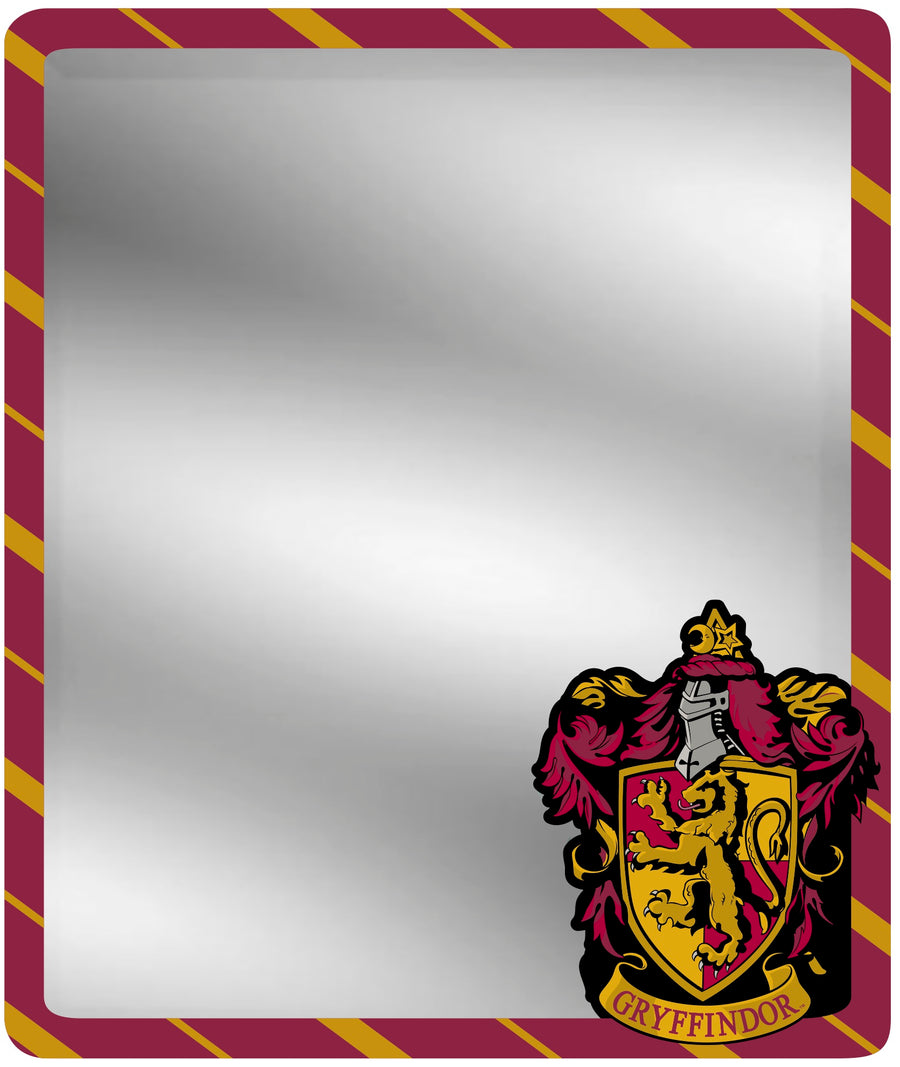 Locker Mirror - Gryffindor Crest Stripe3 Burgundy Gold