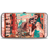 Hinged Wallet - FANTASTIC BEASTS AND WHERE TO FIND THEM City Post Card NEW YORK IT'S CHARMING