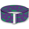 Cinch Waist Belt - Joker Cards Flower HAHAHA Purple Green Yellow White