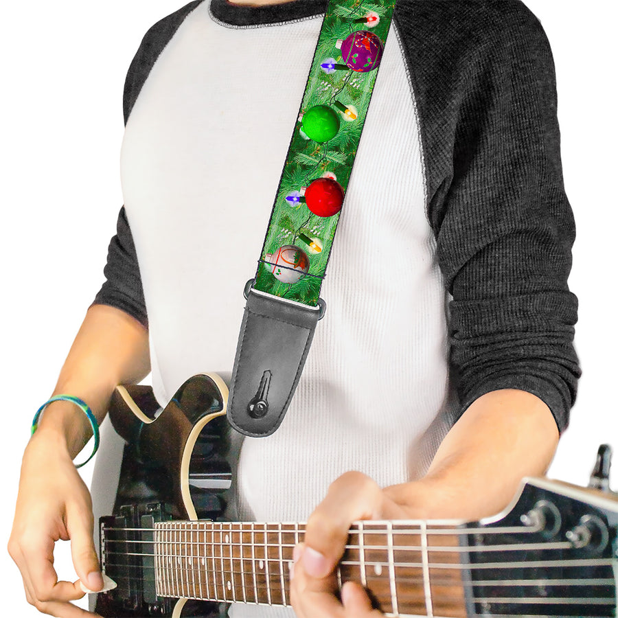 Guitar Strap - Decorated Tree