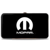 Hinged Wallet - MOPAR Logo Black White