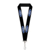 "Lanyard - 1.0"" - Ford Oval Logo REPEAT"