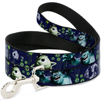 Dog Leash - Monsters University Sully & Mike Poses/GRRRRR!