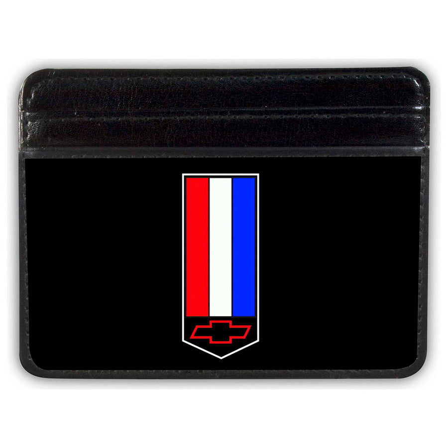 Weekend Wallet - Camaro Badge Logo Black Red White Blue