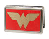 Business Card Holder - LARGE - Wonder Woman GW Red Gold