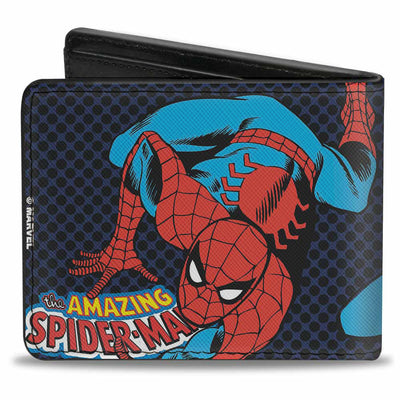MARVEL COMICS Bi-Fold Wallet - THE AMAZING SPIDER-MAN Action Poses