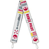 Purse Strap - Star Wars REBEL PILOT Rebel Alliance Insignia Lightsaber X-Wing Fighter White Red Yellow Gray