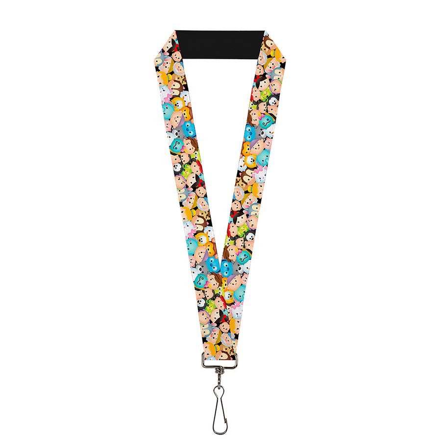 "Lanyard - 1.0"" - Tsum Tsum Faces Stacked"