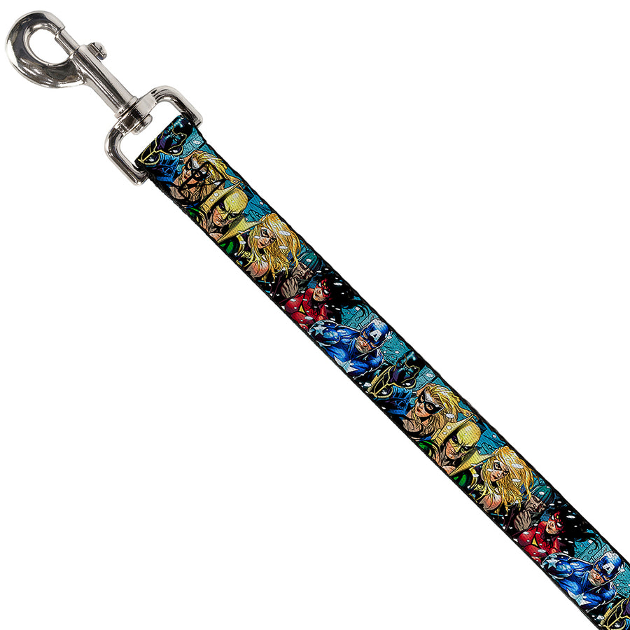 Dog Leash - New Avengers Group Snow Storm Pose
