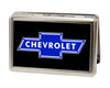 Business Card Holder - LARGE - Chevy Bowtie FCG Black Blue