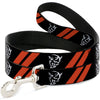 Dog Leash - Dodge Stripes/Demon Icon Black/Red/White