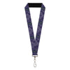 "Lanyard - 1.0"" - BOWTRUCKLE PICKETT Pose Icons Purples Blues White"