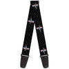 Guitar Strap - Ford Mustang w Bars REPEAT w Text