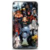 MARVEL X-MEN Hinged Wallet - X-Men 12-Mutants Character Group Pose