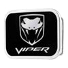 Dodge Viper Framed FCG Black Silver - Chrome Rock Star Buckle