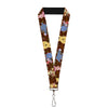 "Lanyard - 1.0"" - Winnie the Pooh Character Poses"