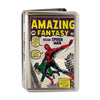 MARVEL COMICS Business Card Holder - LARGE - Spider-Man Carrying Man Amazing Fantasy #15 Comic Book Cover FCG