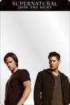 Locker Mirror - SUPERNATURAL-JOIN THE HUNT Winchester Brothers Pose