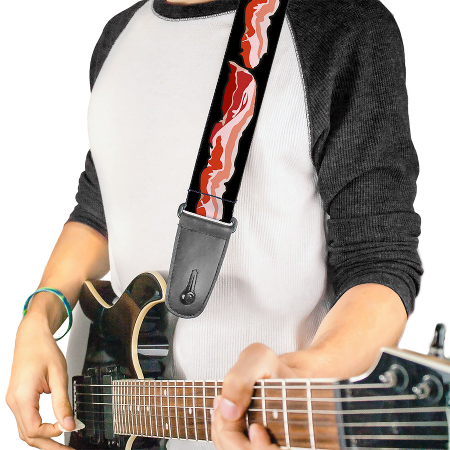 Guitar Strap - Bacon