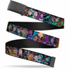 Black Buckle Web Belt - Injustice League of America Issue #13 Villains Webbing