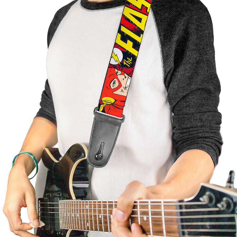 Guitar Strap - The Flash in Action
