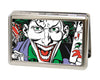 Business Card Holder - LARGE - Joker Face w Pistol CLOSE-UP FCG