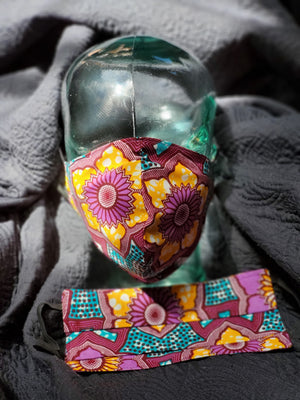 Ankara Face Masks