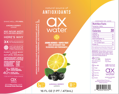 Lemon (12-Pack) - ax water