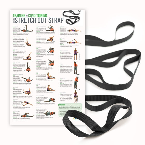 Stretch Out Strap™ XL with Training & Conditioning Poster
