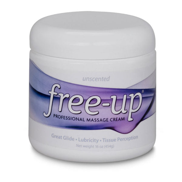 Free-Up Massage Cream - Unscented (16 oz)