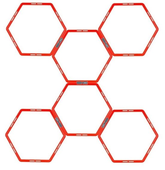 AGILITY GRID HEXAGON 6-PIECE