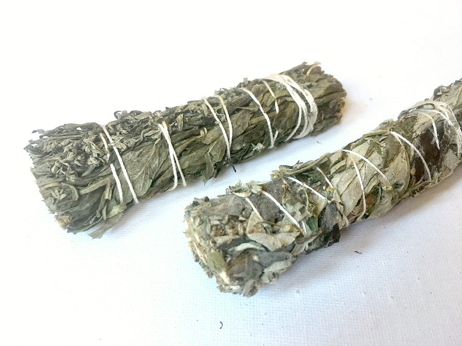 "Black Sage (Mugwort) 3-4"" Stick"