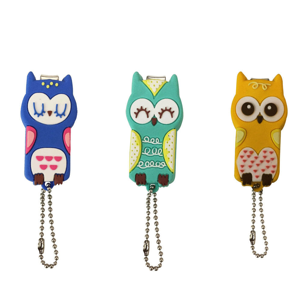 Owl Nailcutter - Set of 3