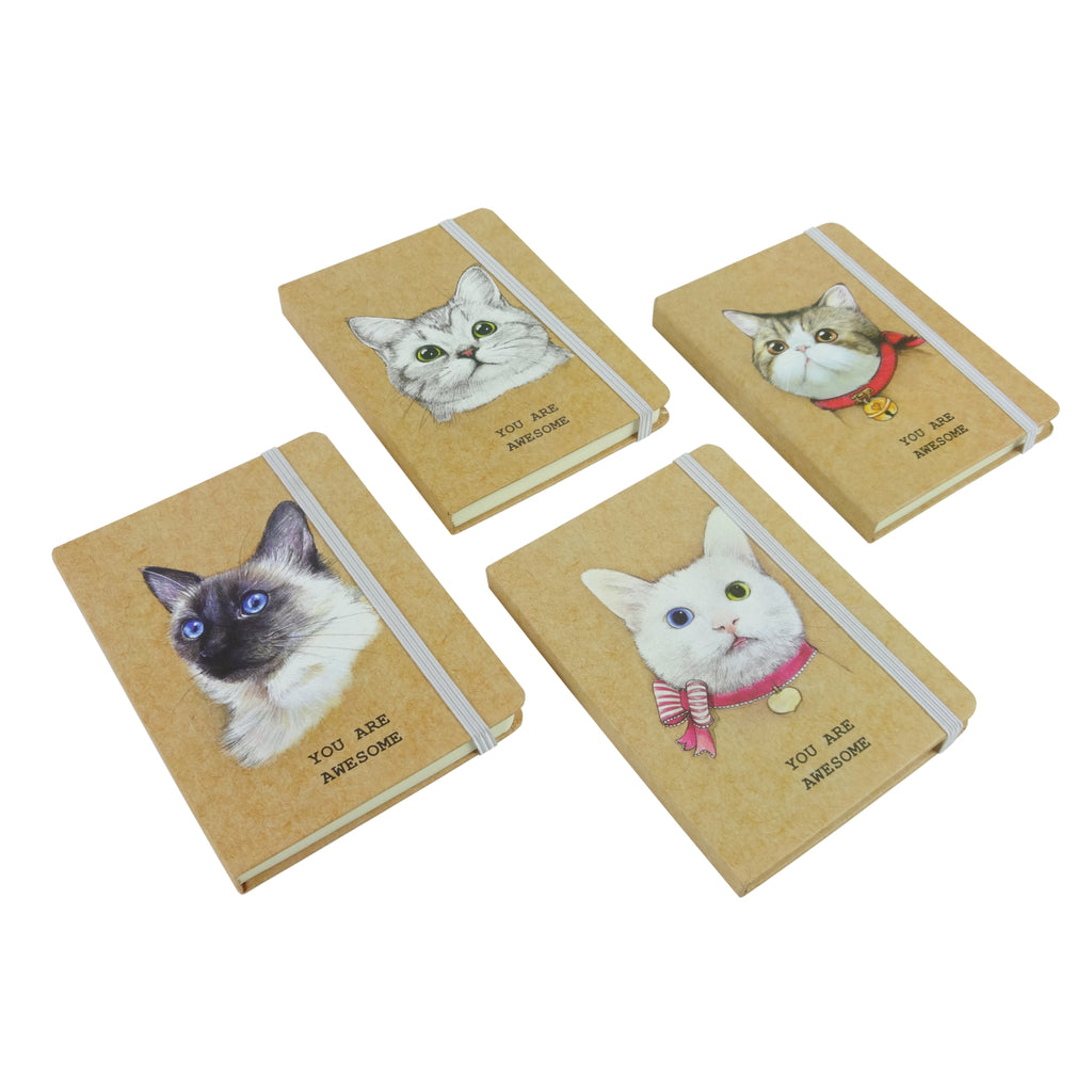 A5 Cat Diary - Set of 4