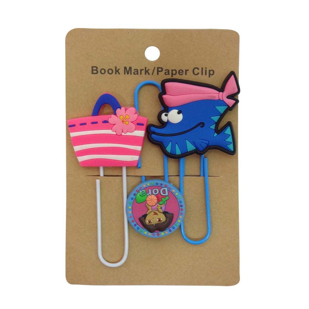 Bag Mixed Design Paper Clip - Set of 3