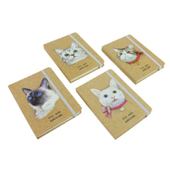 A6 Cat Diary - Set of 4