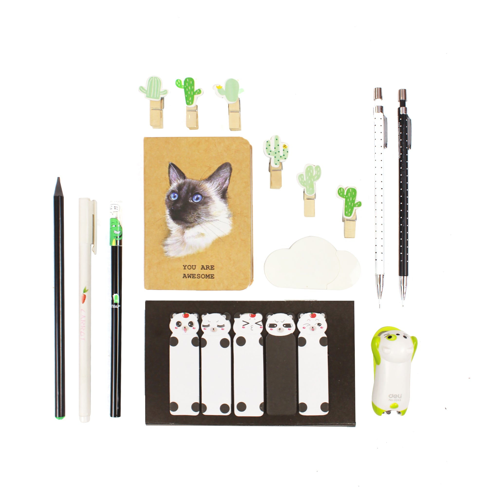 Black & Green Gift Set