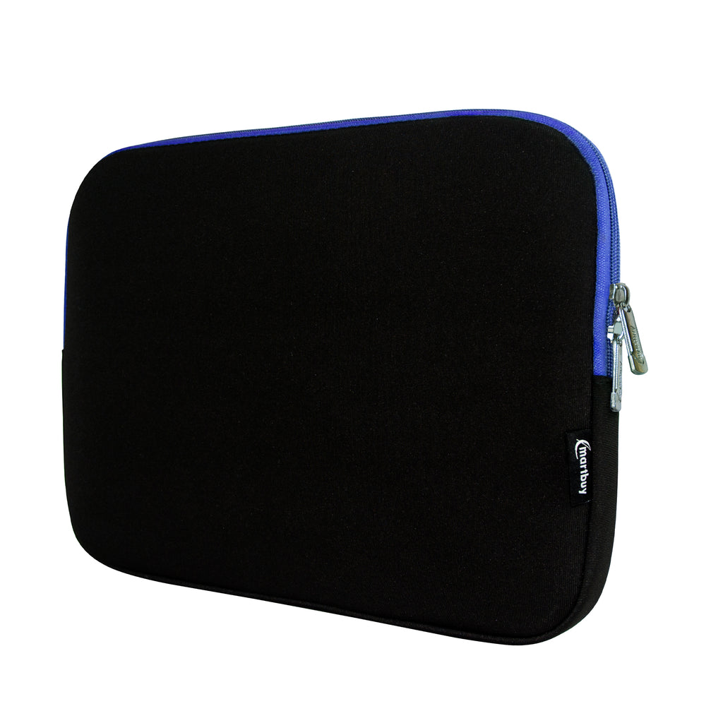 Universal Neoprene Zip Case - Black Blue