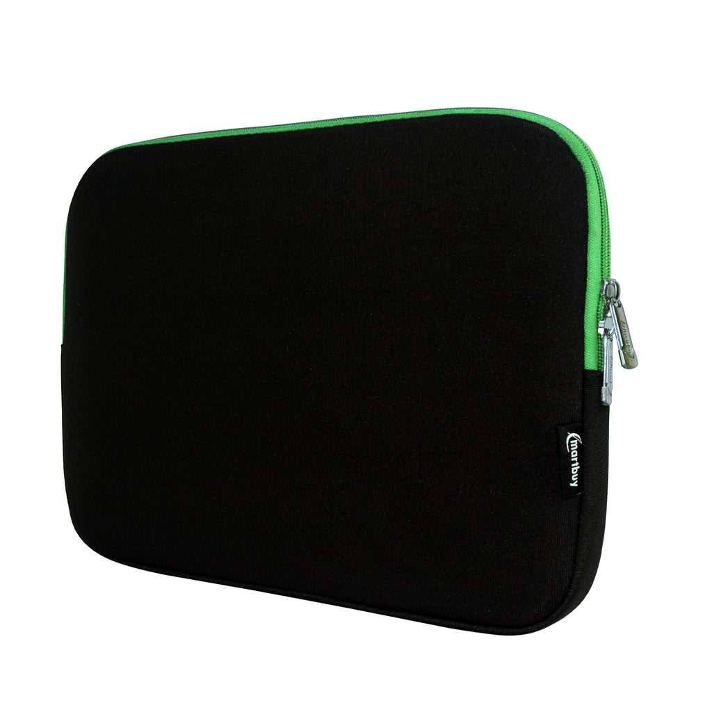 Universal Neoprene Zip Case - Black / Green