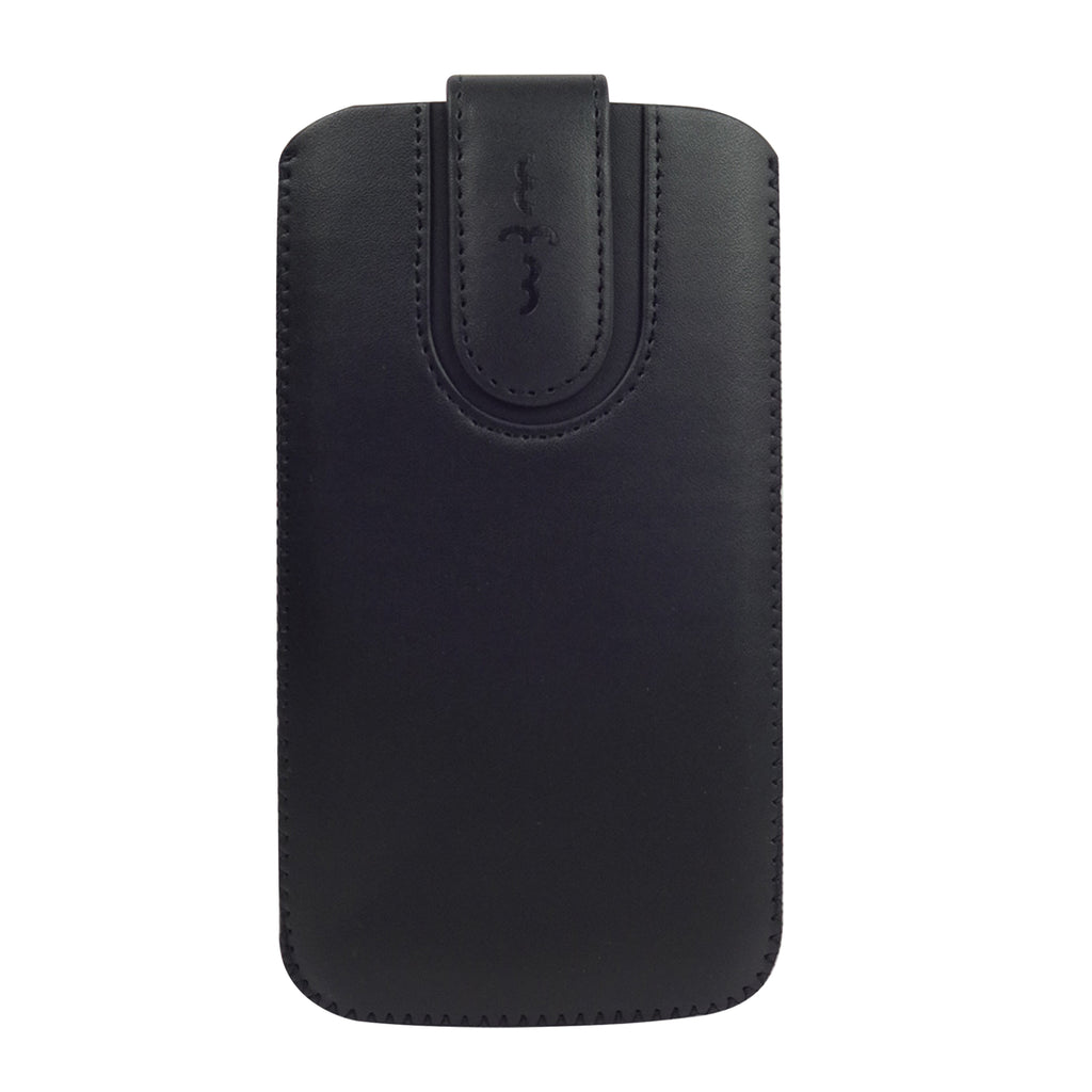 Universal Phone Pouch - Black Plain