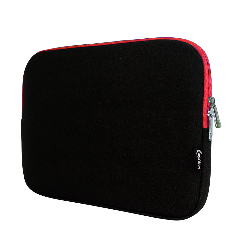 Universal Neoprene Zip Case - Black / Red